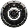 Luxus Ebony HQ Clock Widget APK Icon