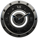Luxus Ebony HQ Clock Widget icon