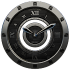 Luxus Ebony HQ Clock Widget icon