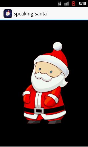 Speaking Santa