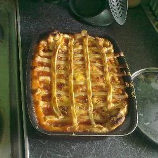 Sausage and Bean Pie.