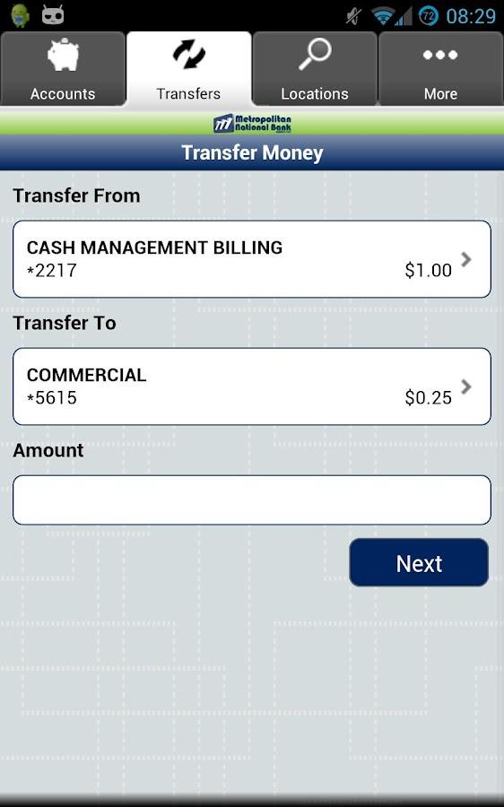 Metropolitan National Bank- screenshot