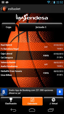 es Basket - screenshot