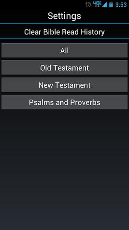 The Holy Bible Screenshot