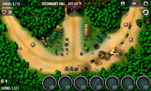 iBomber Defense Pacific - screenshot thumbnail