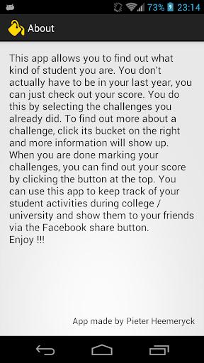 【免費娛樂App】Student Bucket List-APP點子