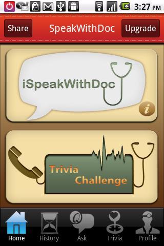 SpeakWithDoc- screenshot