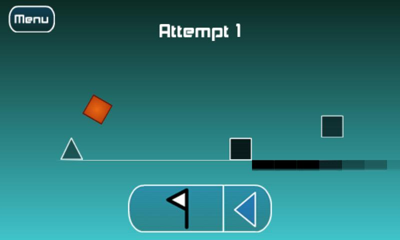 The Impossible Game Android App Screenshot