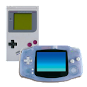 Retro Game Boy and Advance logo