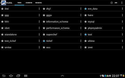 ProSQL - MySQL Client - screenshot thumbnail