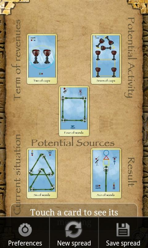 Egyptian Tarot Kit Deck Book Loscar