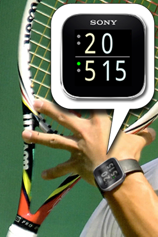 Tennis Watch for MN2