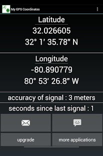GPS coordinates and location - screenshot thumbnail