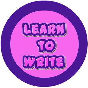 learn to write apps Learn to write is a fun way for children to learn how to write their letters and numbers, and with the improved playback feature in version 41, it's easy for the teacher to make sure they do it correctly.