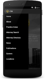 CSK Legal App- screenshot thumbnail