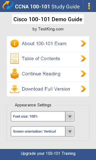 ICND 100-101 Study Guide Demo