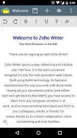 Zoho Docs Screenshot 6
