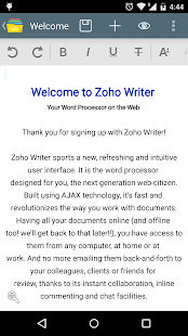 Document Management -Zoho Docs- screenshot thumbnail