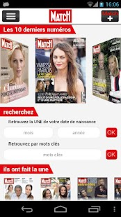 Paris Match Actu - screenshot thumbnail