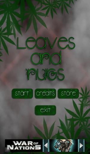 Leaves n Nugs Weed Tic Tac Toe