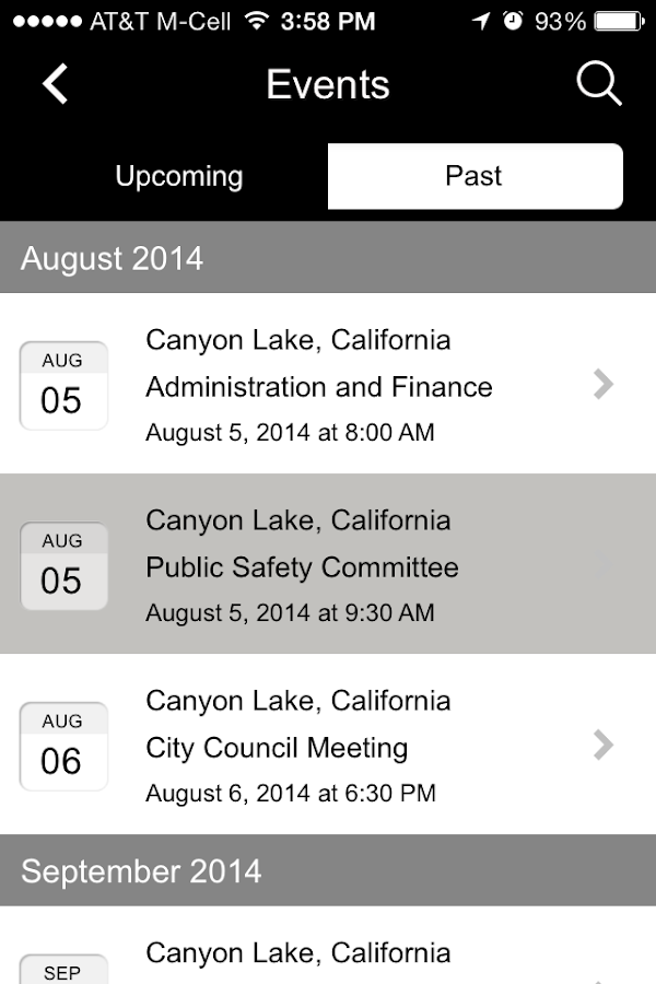 CityByApp® Canyon Lake!- screenshot