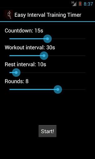 Easy Interval Training Timer