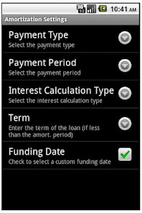 Commercial Loan Calculator - screenshot thumbnail