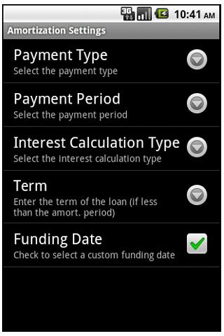 Commercial Loan Calculator- screenshot