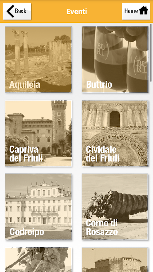 Ciao in Friuli Venezia Giulia- screenshot