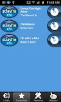 Screenshot of Stray FM