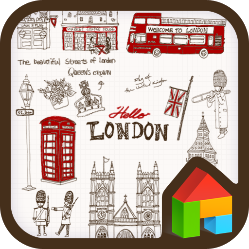 Hi London dodol launcher theme