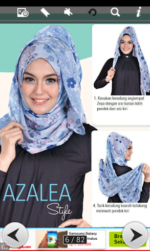 Tutorial Hijab Trendy
