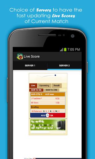 Live Cricket Scores & Schedule 1.6 screenshots 5