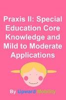 Screenshot of Praxis: Special Ed Exam Prep