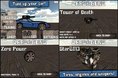 Cars And Guns 3D FREE Screenshot 5