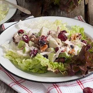 Gluten Free Crunchy Chicken Waldorf Salad