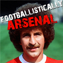 Footballistically Arsenal logo