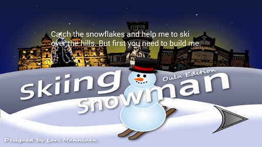 Skiing Snowman Oulu