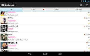 1 SayHi Chat, Love, Meet, Dating App screenshot