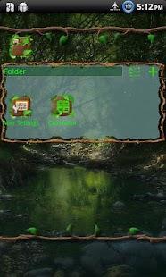 Wild Wood GO Launcher EX Theme - screenshot thumbnail