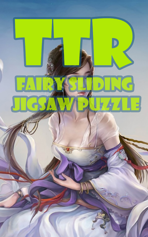 Fairy Sliding Puzzle - screenshot