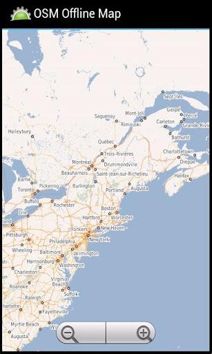 OSM Offline Map