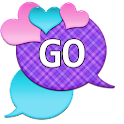 GO SMS - Loving Hearts 2 icon
