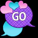 GO SMS - Loving Hearts 2 icon