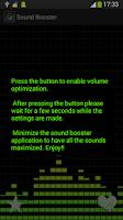 Screenshot of Sound Booster
