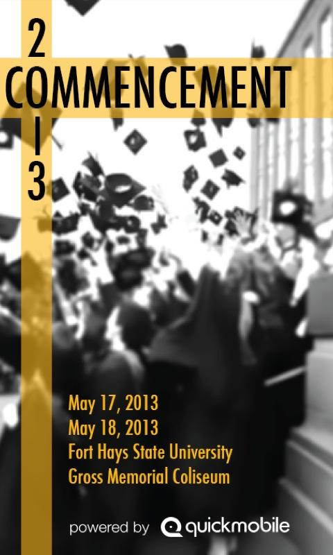 FHSU Commencement- screenshot
