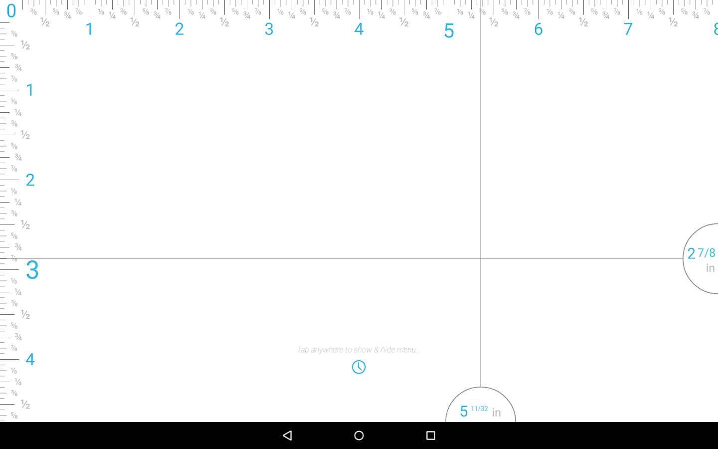 Ruler android apps on google play ruler screenshot nvjuhfo Image collections