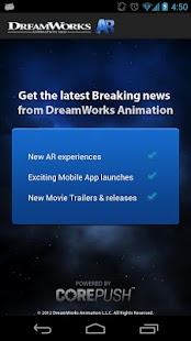 DreamWorks Animation AR - screenshot thumbnail