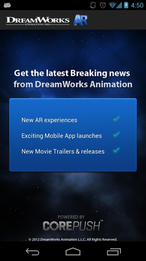DreamWorks Animation AR - screenshot