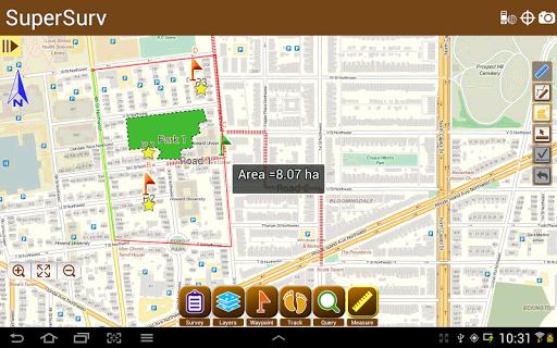 SuperSurv Lite --GIS App  screenshots 10